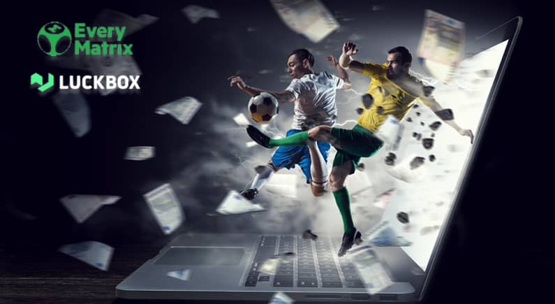 Luckbox and EveryMatrix expand partnership with live sports solution