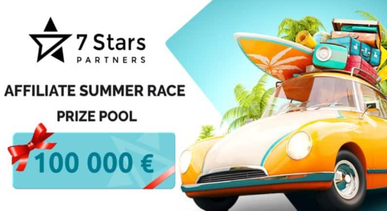 7StarsPartners kicks off the summer holidays with Affiliate Summer Race