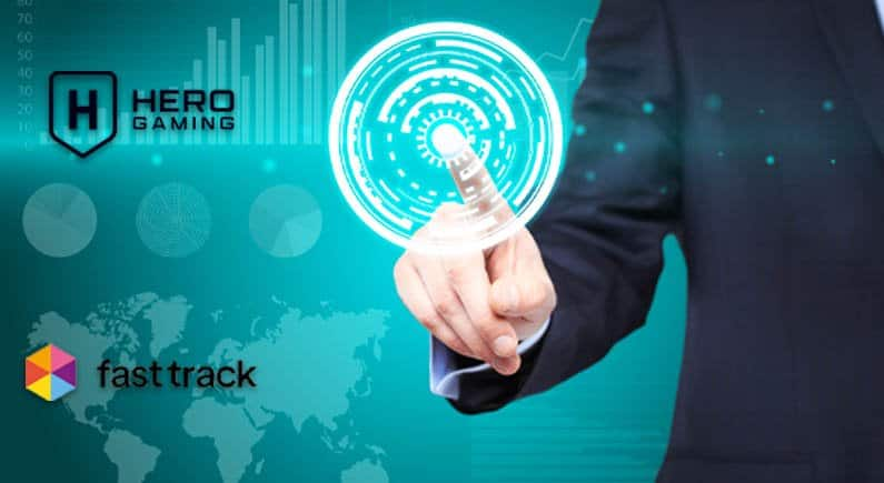 Fast Track and Hero Gaming collaborate on partnership Success Story