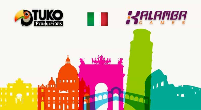 Kalamba Games expands presence in Italy with Tuko Productions
