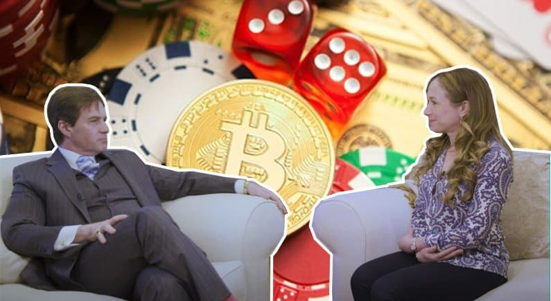 Bitcoin was created with the gambling industry in mind