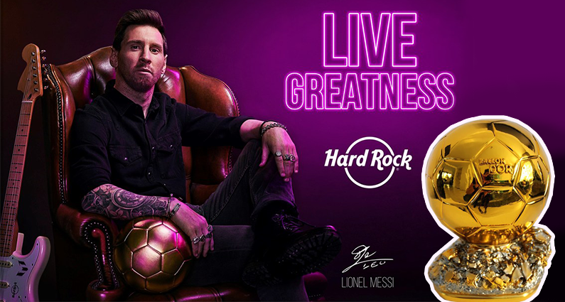 Messi signs as the new brand ambassador for Hard Rock
