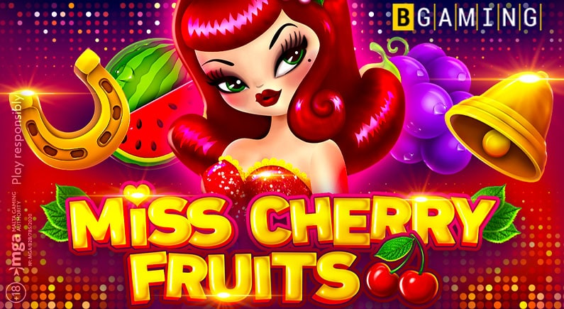pr banner bgaming launches miss cherry fruits slot